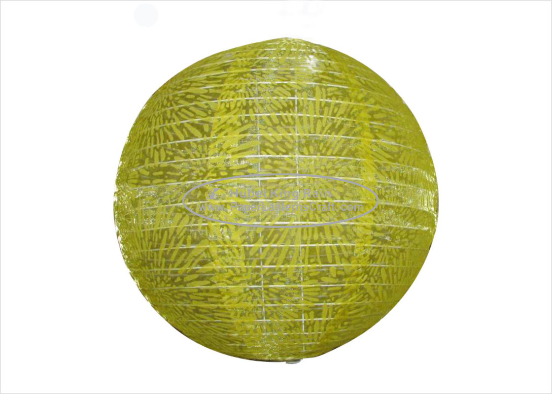 "buy Green 8"" 10"" 12"" Round Paper Lanterns / Nylon Silk Circle Paper Lanterns online manufacturer"
