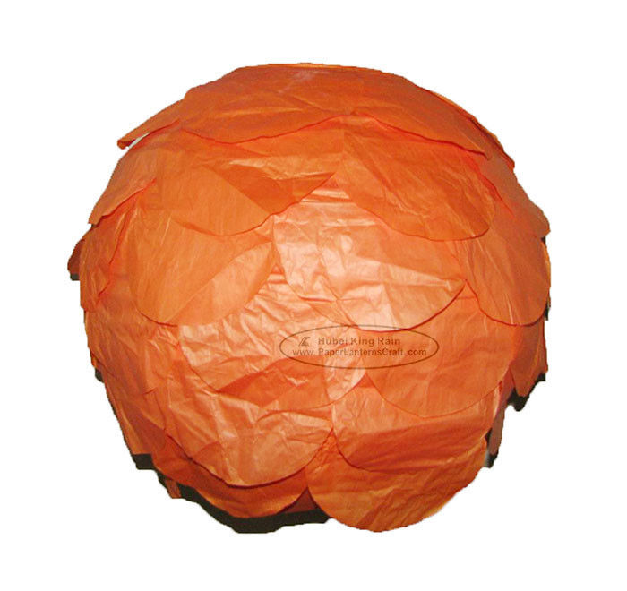 buy Dia 30cm Multilayer Round Paper Lanterns For Party , Hanging online manufacturer
