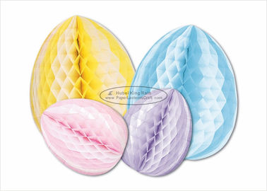 High Standard  Honeycomb Paper Decorations Easter Egg Gifts For Kids